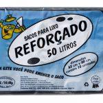 Sacos para lixo - Reforçado - 50 litros